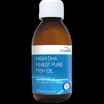 Pharmax High DHA Finest Pure Fish Oil 5.1 fl oz HIGH3