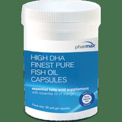 Pharmax High DHA Finest Pure Fish Oil 90 caps HIGH4
