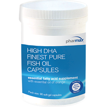 Pharmax High DHA Finest Pure Fish Oil 90 caps HIGH4