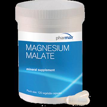 Pharmax Magnesium Malate 125 mg 120 vcaps MAG81