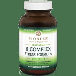 Pioneer B Complex Stress Formula 60 tabs BCOM3