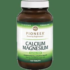 Pioneer Calcium Magnesium 120 Tabs CMPIO