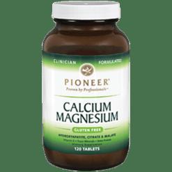 Pioneer Calcium Magnesium 120 Veg Tabs CMPI2
