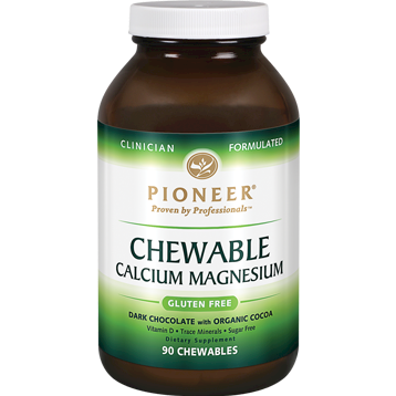 Pioneer Chewable Cal Mag Chocolate Cocoa 90 chew CHE17