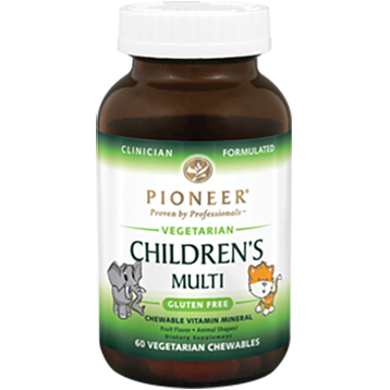 Pioneer Childrens Multi Vitamin 60 Veg Chews CHI43