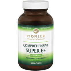 Pioneer Comprehensive Super E 60 Softgels SUP13
