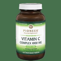 Pioneer Vitamin C Complex 1000 mg 120 Veg Tabs CCOM2