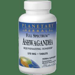 Planetary Herbals Ashwagandha 570mg 120 tabs PF0535