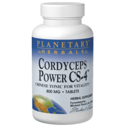 Planetary Herbals Cordyceps Power CS 4™ 60 tabs PF0425