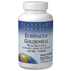 Planetary Herbals Echinacea Goldenseal w Olive Leaf 30tabs PF0445
