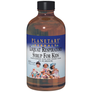 Planetary Herbals Loquat Respiratory Syrup for Kids 4 oz PF0598