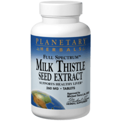 Planetary Herbals Milk Thistle Seed Extract 60 tabs PF0363