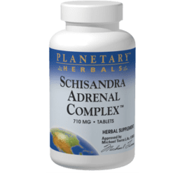 Planetary Herbals Schisandra Adrenal Complex 120 tablets PF0156