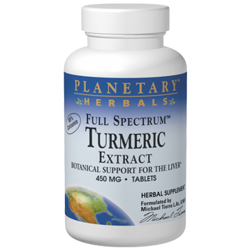 Planetary Herbals Turmeric Extract 450 mg 60 tablets PF0398