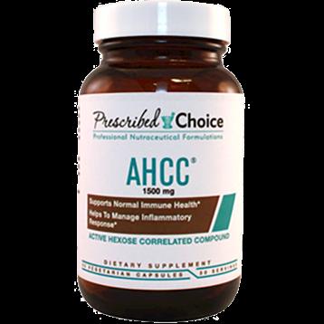 Prescribed Choice AHCC 1500 mg 60 capsules P80012