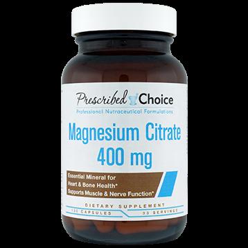 Prescribed Choice Magnesium Citrate 400 mg 100 vegcaps P83016