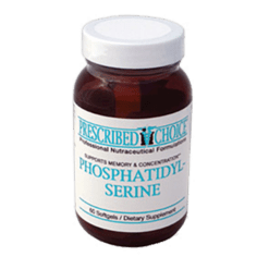 Prescribed Choice Phosphatidylserine 100mg 60softgel P80204