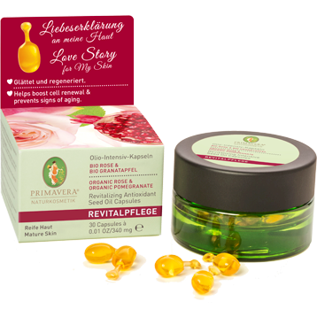 Primavera Life Revitalizing Intensive Seed Oil 30caps P72302