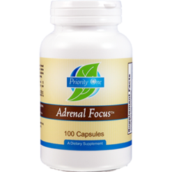 Priority One Vitamins Adrenal Focus 100 caps ADR46