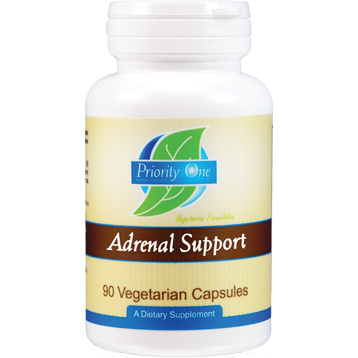 Priority One Vitamins Adrenal Support 90 vegcaps P18339