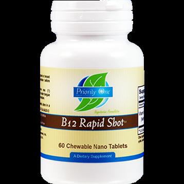 Priority One Vitamins B 12 Rapid Shot 60 tabs PR1442
