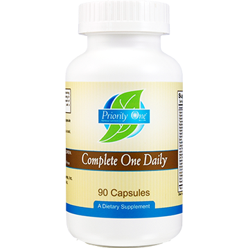 Priority One Vitamins Complete One Daily 90 caps COM33