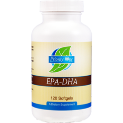 Priority One Vitamins EPA DHA Plus 120 softgels EPAD9