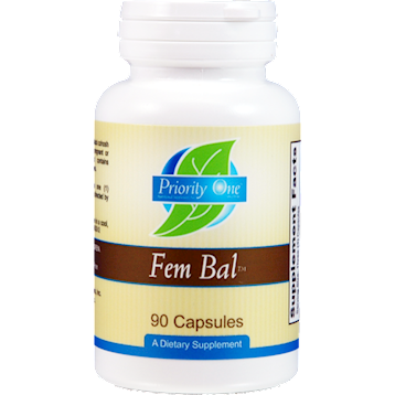 Priority One Vitamins Fem Bal 90 caps PR1338