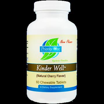 Priority One Vitamins KinderWell Chewable 60 tabs PR1808