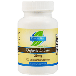 Priority One Vitamins Lithium Organic 30 mg 100 capsules PR1080