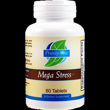 Priority One Vitamins Mega Stress 60 tabs MEG13