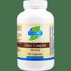 Priority One Vitamins Mens Complete 180 capsules MENSC