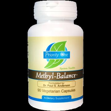 Priority One Vitamins Methyl Balance 90 vegcaps P21638