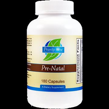 Priority One Vitamins Pre Natal 180 caps PRE31
