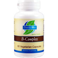 Priority One Vitamins Priority B Complex 60 vcaps BCO35