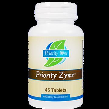 Priority One Vitamins Priority Zyme 45 tabs PRIO2