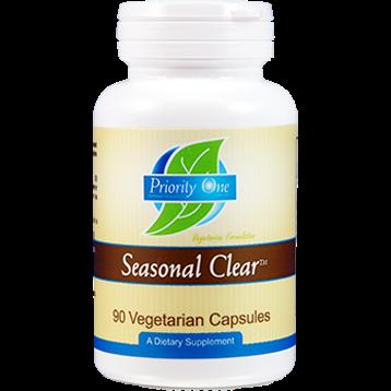 Priority One Vitamins Seasonal Clear 90 vegetarian capsules PR1176