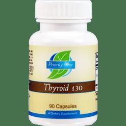 Priority One Vitamins Thyroid 130 mg 90 capsules THY42