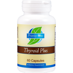 Priority One Vitamins Thyroid Plus 60 caps THY44