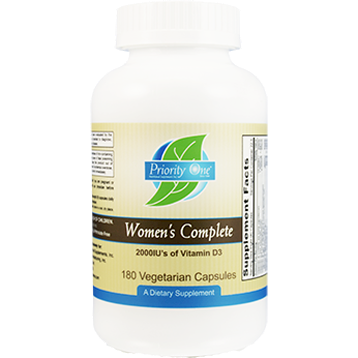 Priority One Vitamins Womens Complete 180 capsules WOM45