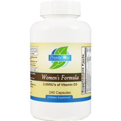 Priority One Vitamins Womens Formula 240 caps WOM42