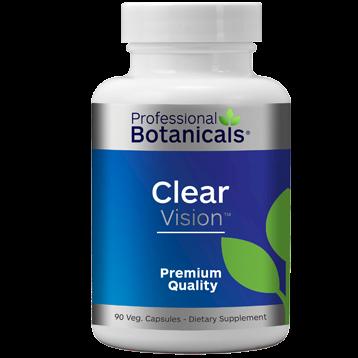 Professional Botanicals Clear Vision 120 capsules PB1170