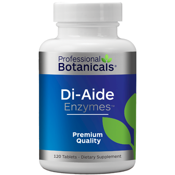 Professional Botanicals DI Aide Enzymes 120 tabs PB1220