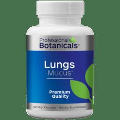 Professional Botanicals Lungs Mucus 60 capsules PB1490