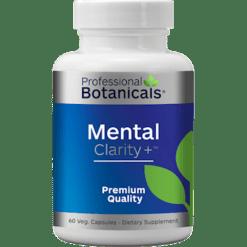 Professional Botanicals Mental Clarity 60 vegcaps P01096