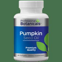 Professional Botanicals Pumpkin Seed Oil 60 gels PB1670