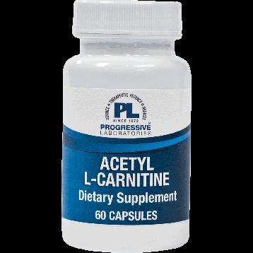 Progressive Labs Acetyl L Carnitine 500 mg 60 caps NAC17