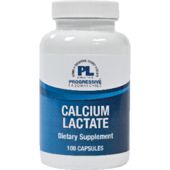 Progressive Labs Calcium Lactate 115 mg 100 caps CAL17