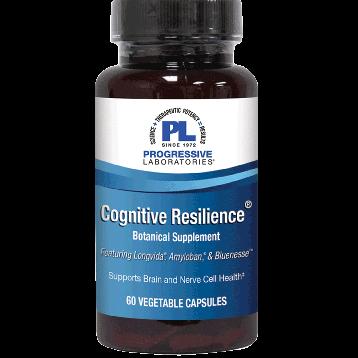 Progressive Labs Cognitive Resilience 60 vegetarian capsules P37035
