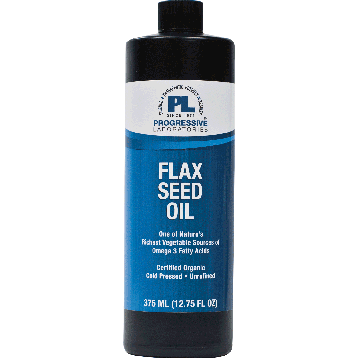 Progressive Labs Flax Seed Oil Organic 12.75 oz FLA26